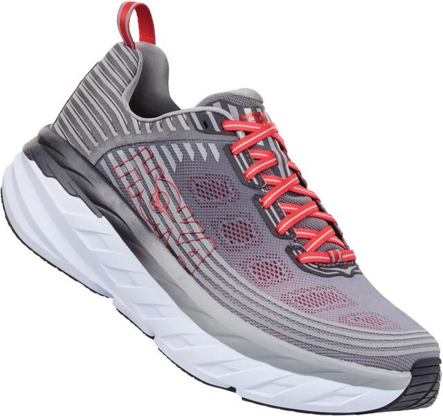 Hoka One One One One M's Bondi 6 Running Shoes alloy/steel grå 3e524f